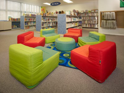 Making Over an Existing Space: Barclay Elementary School