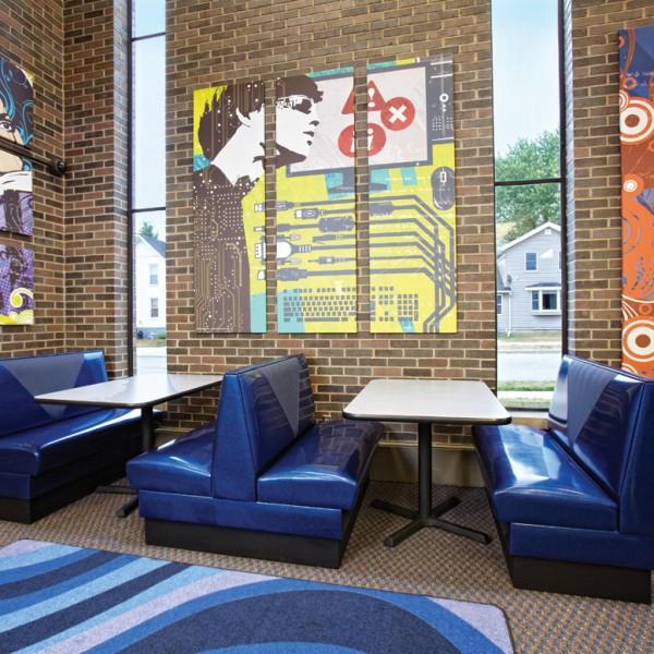 Teen Space at Waupun Public Library, WI