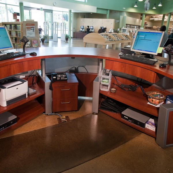 San Jose Public Libraries, Joyce Ellington Branch, CA