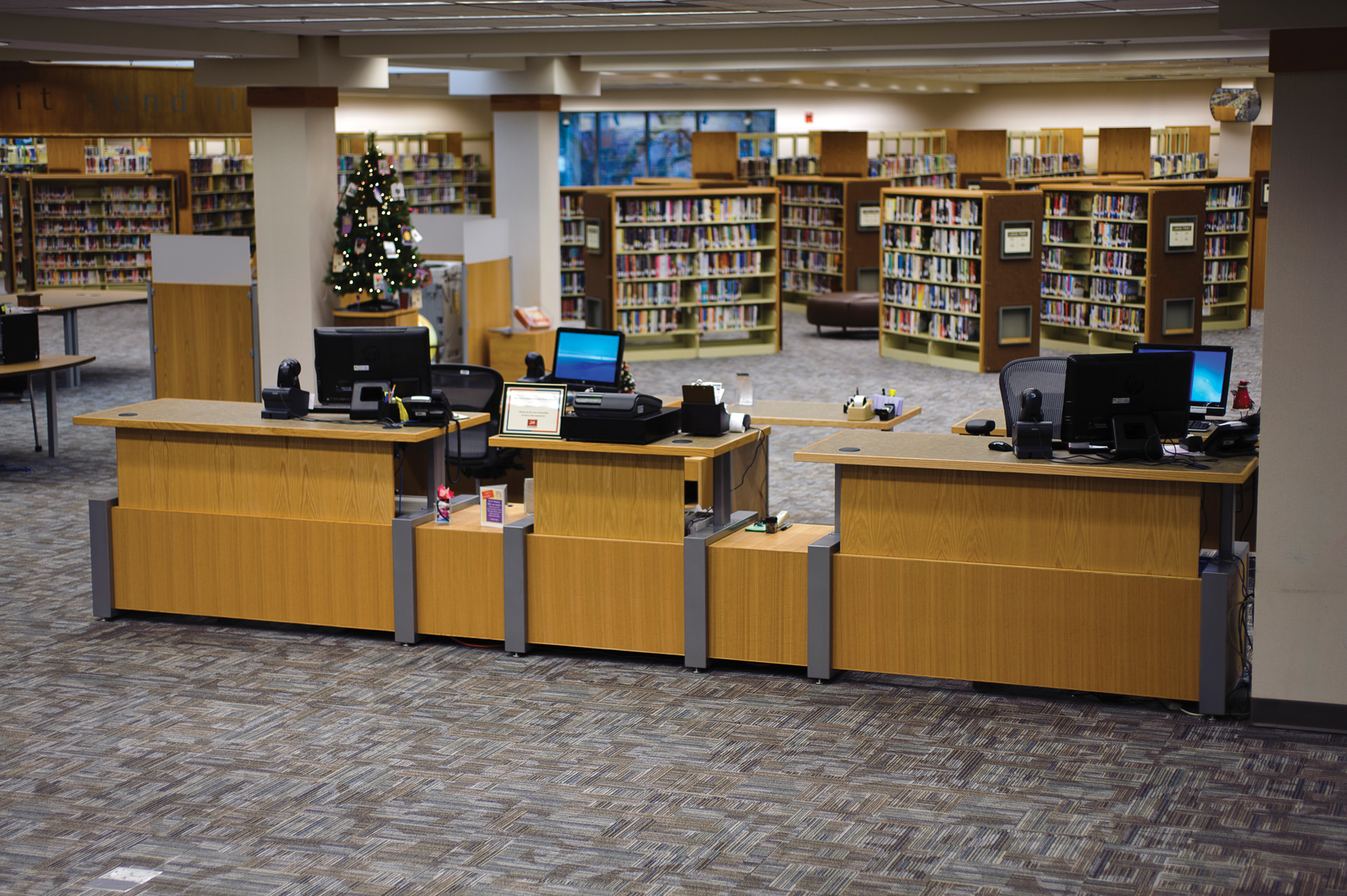 Plainfield-Guilford Township Public Library - Ideas & Inspiration from Demco