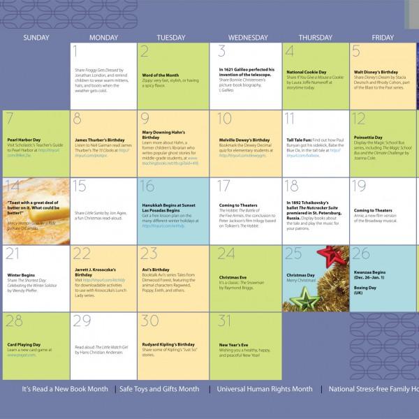 Upstart Calendar December 2014