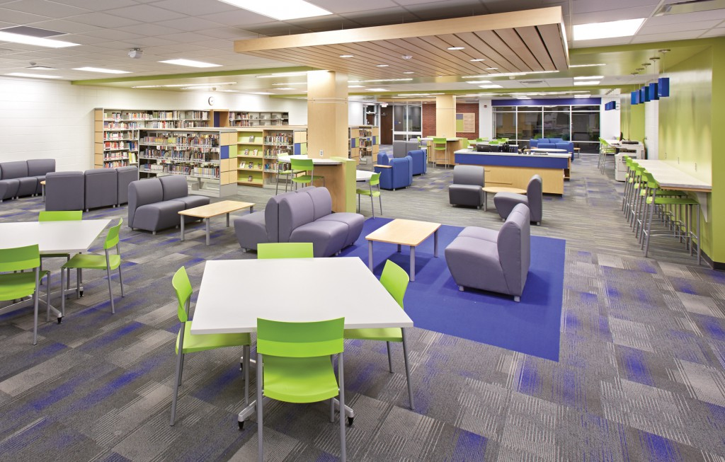 Sioux Center School: Teen Space Central