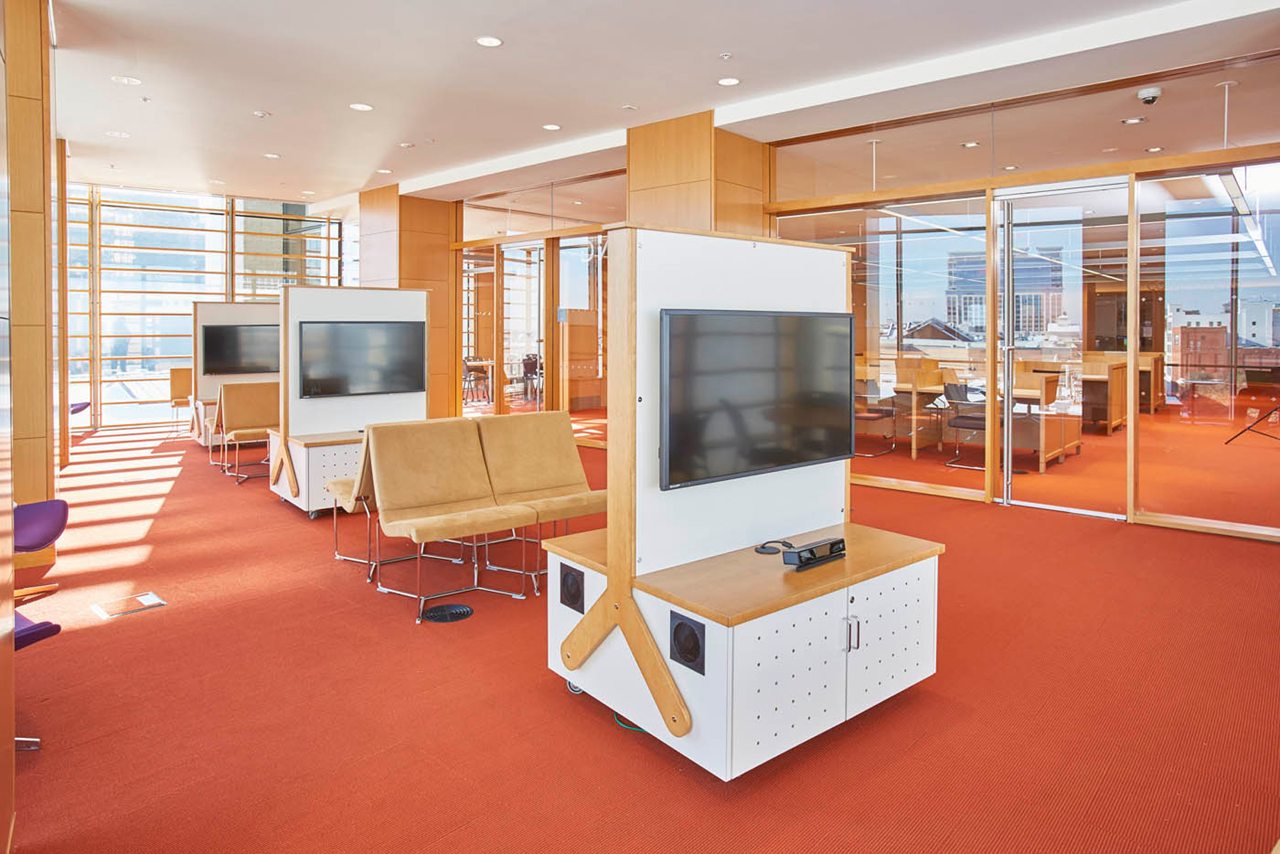 Slover Library Remodel Past Meets Future