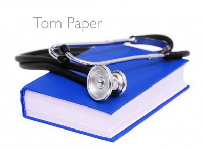 The Book Doctor Is In: Torn Paper Book Repair