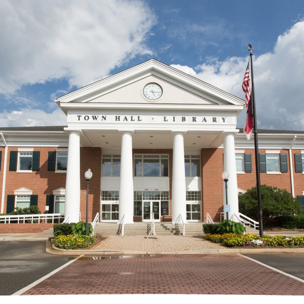 Town Hall Branch Library, Matthews NC