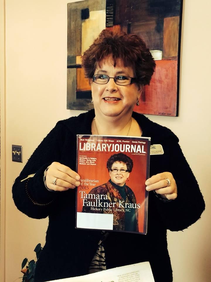 Me holding LJ Magazine
