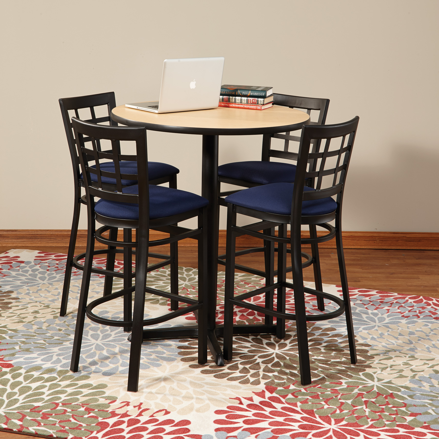 Premier Café Height Tables and Chairs Make Your Library Spaces Multifunctional