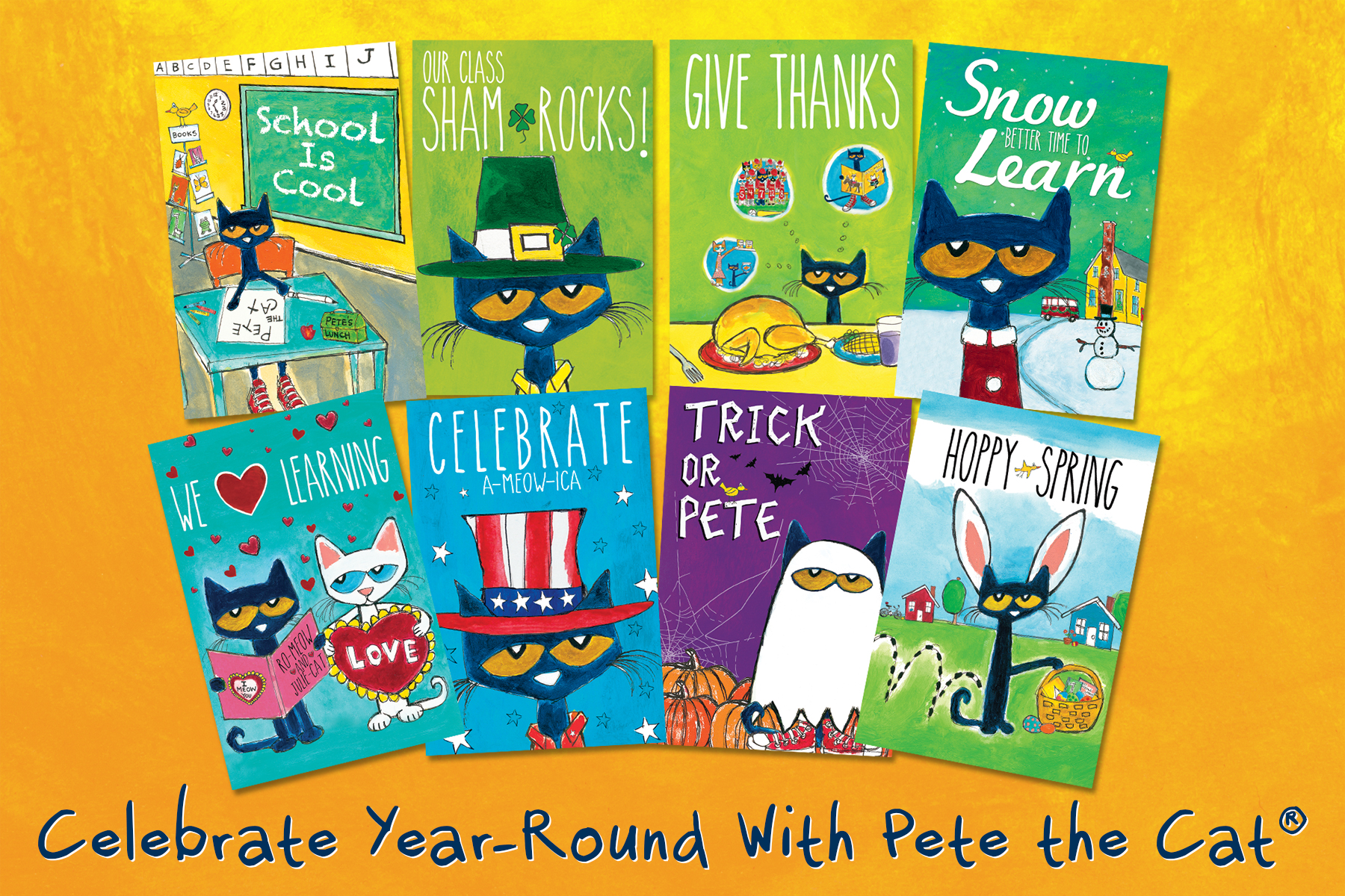 Celebrate With Pete the Cat Activity Guide!