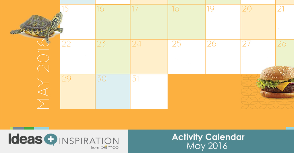 May Calendar Ideas : May activities for schools libraries