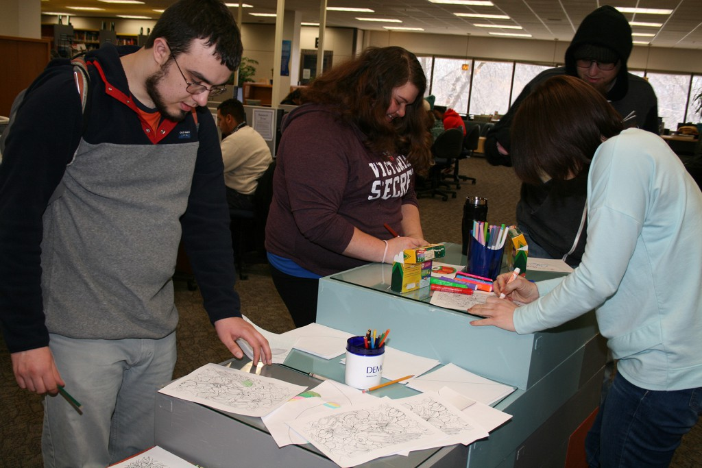 You'll Love the 3 Ways This College Library Helps Students De-stress for Exams