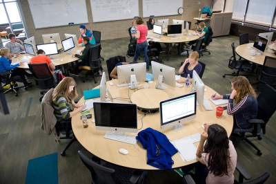 Creating Collaborative Learning Spaces in the College Library