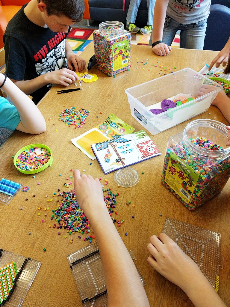 Create an Amazing Low-tech Library Makerspace With These Easy Ideas