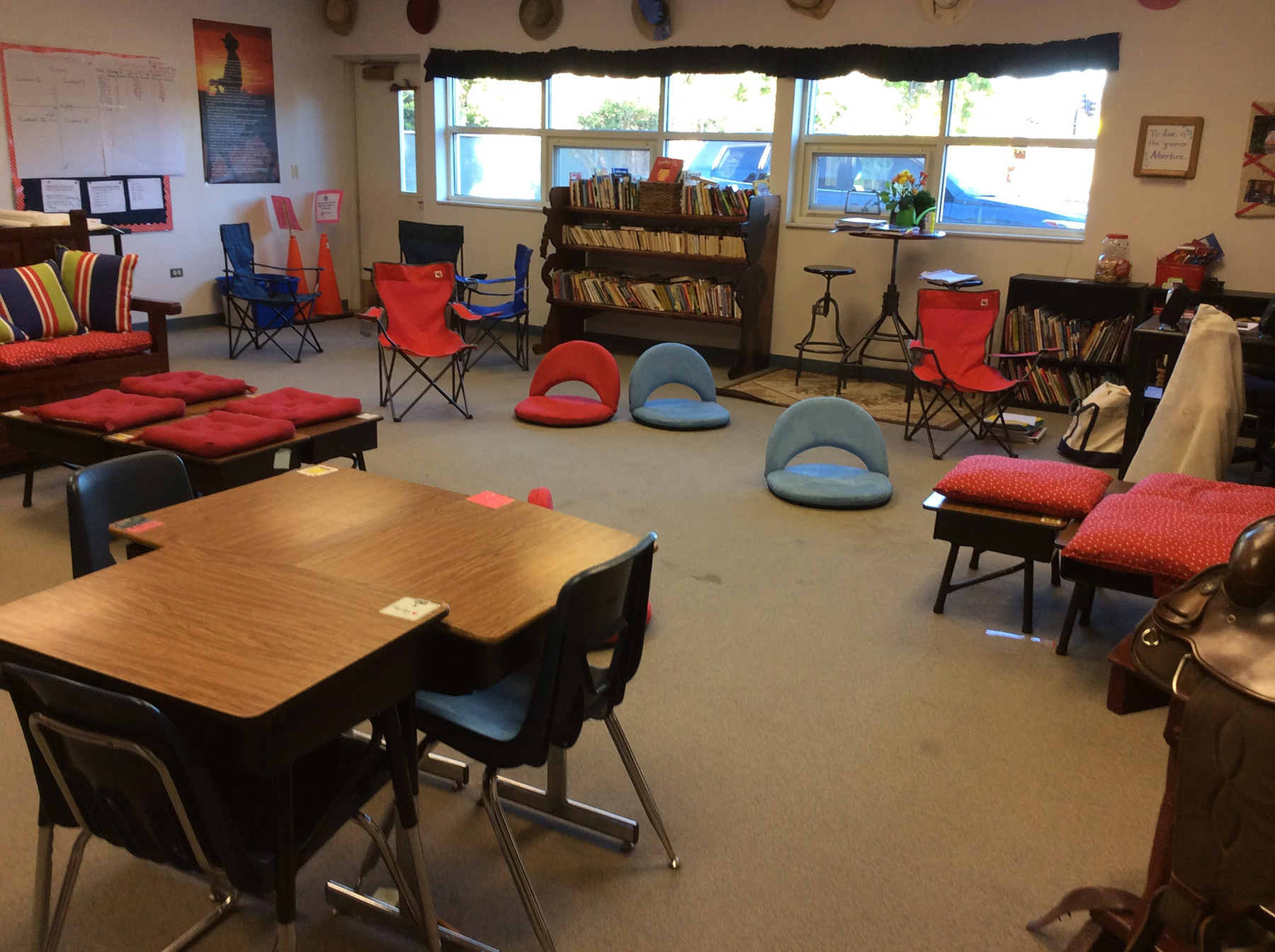 Elementary Classrooms Without Desks : Top reasons to use flexible seating in classrooms