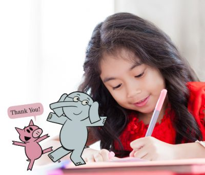 Mo Willems Writing Activity: Thank-you Notes
