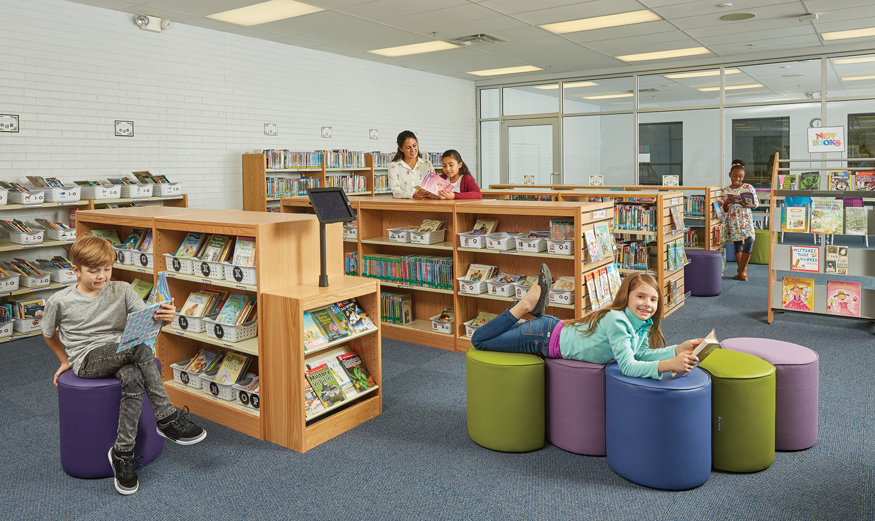 Flexible Child Space on Display