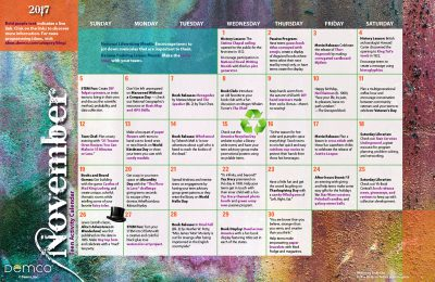 Teen Activity Calendar: November 2017