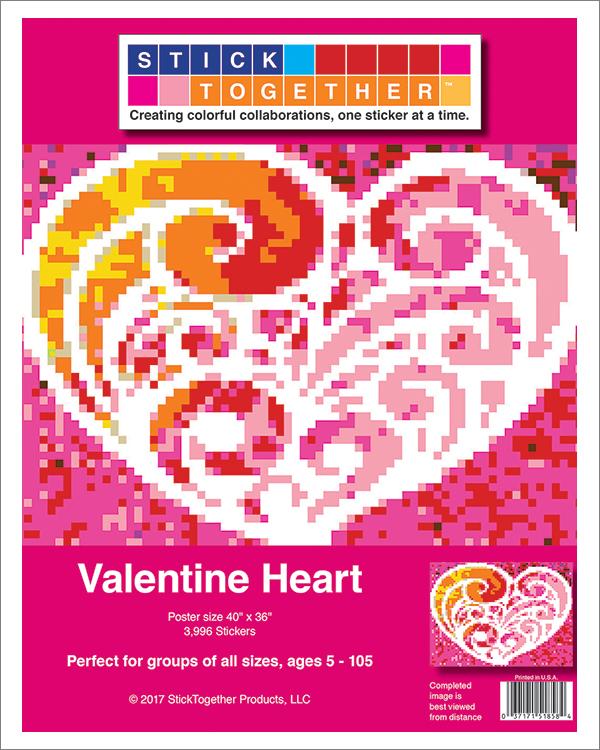 StickTogether Valentine Heart