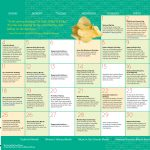 Children's Activity Calendar: March 2018