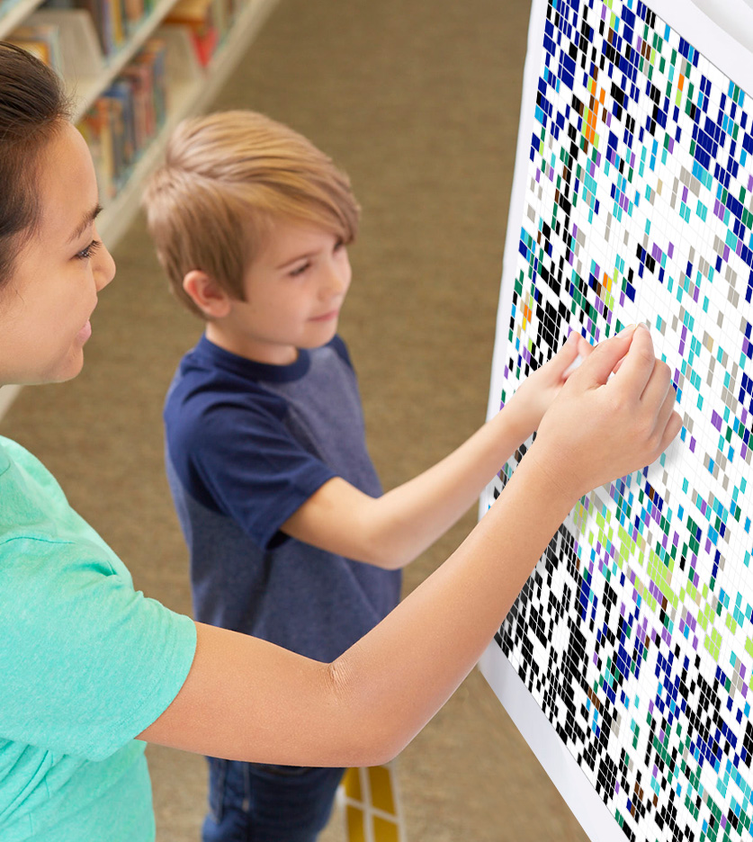 7 Ways to Use StickTogether Mosaic Posters in Your Library