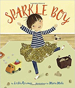 Sparkle Boy by Lesléa Newman and Maria Mola