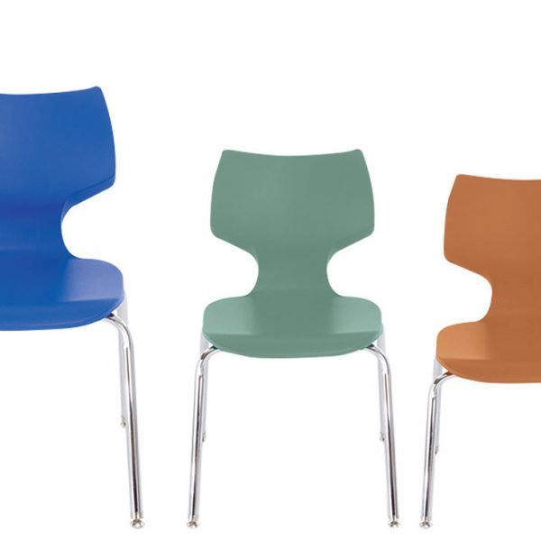 Make Room in Your Library Spaces With Smith Systems Flavors Stack Chairs