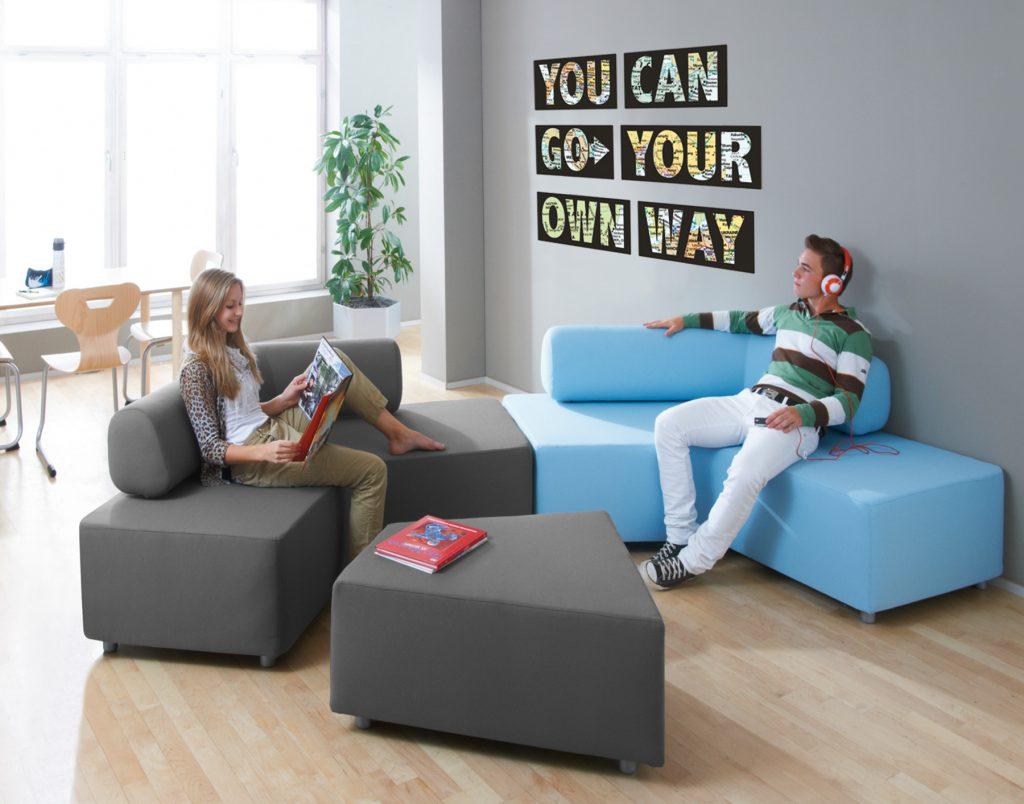 HABA® Boomerang Modular Sofa & Ottoman