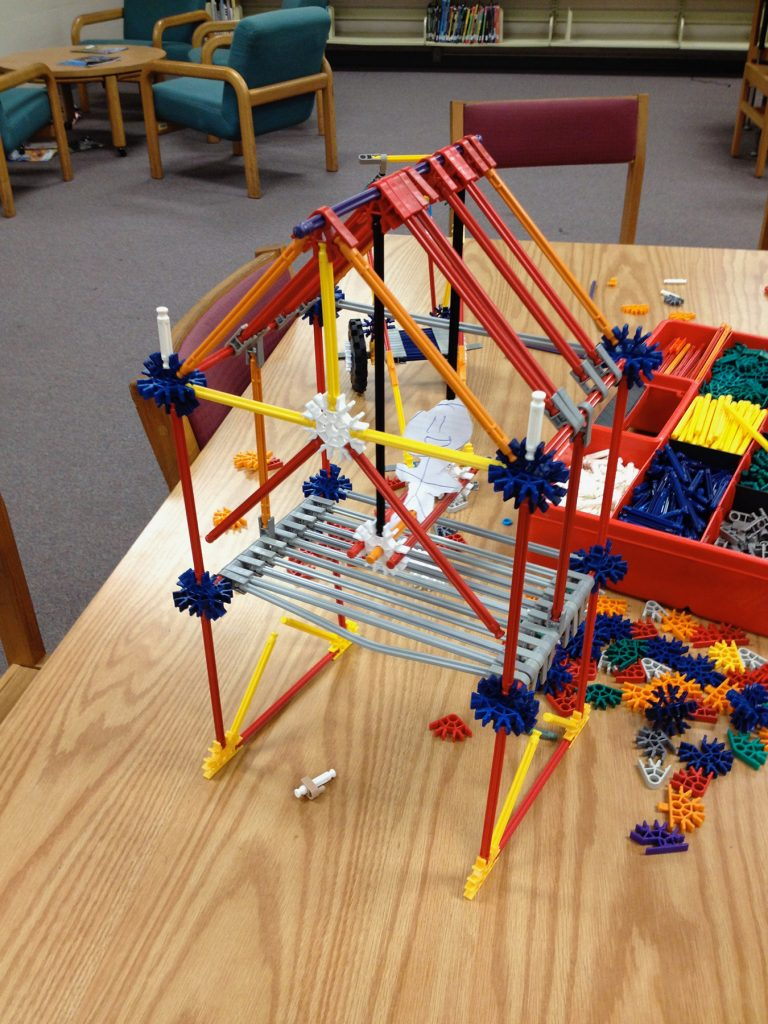 Creatures Home built with K'NEX