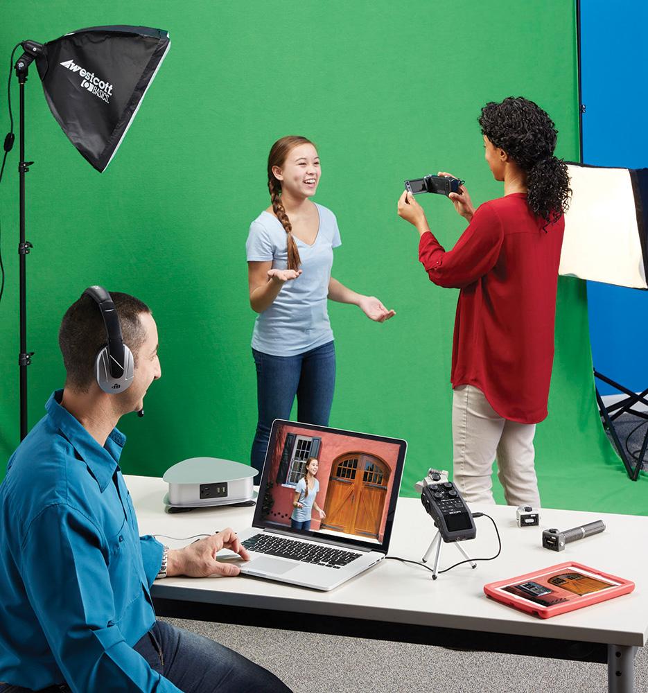 Westcott uLite Green Screen Photo Lighting Kit