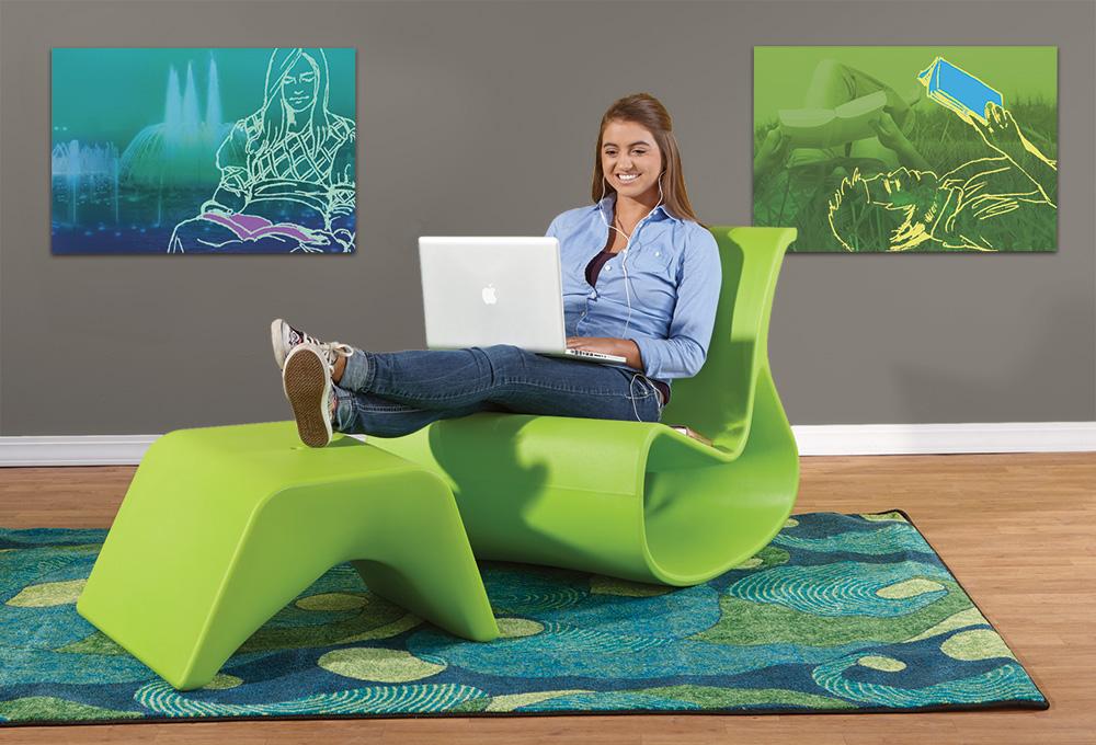 Offi Mod Lounger Chair