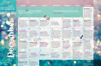 Teen Activity Calendar: December 2018