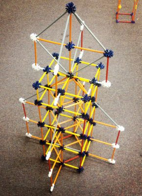 Give your makerspace activities a boost with a K'NEX Rocketship.