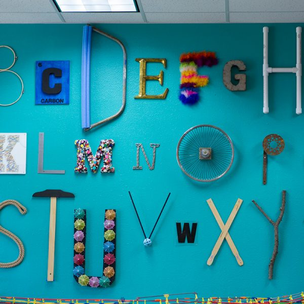 Use an Alphabet Wall to nurture your maker culture