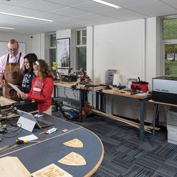 University Liggett School Fabrication Maker Room