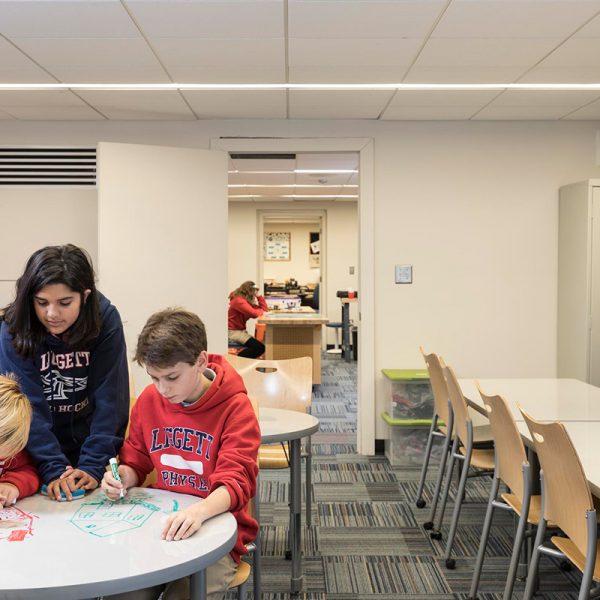 University Liggett School Design Maker Room