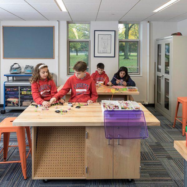 University Liggett School Prototyping Maker Room